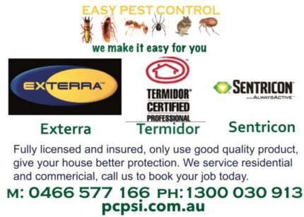 trustworthy pest service from $99