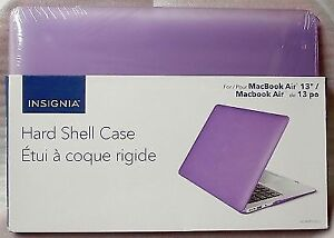 Insignia Macbook Air 13 Hard Case Shell Cover.+3 SKINS FREE