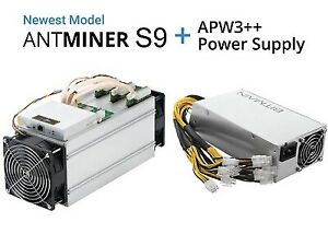 Antminer with power supply brand new in sealed boxes