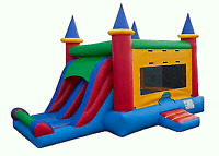 COMMERCIAL GRADE BOUNCY CASTLE COMBOS FOR RENT