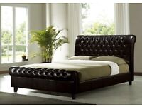 Chesterfield leather bed #MASSIVE SALE NOW ON!