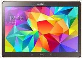 Samsung galaxy tab S 10.5 16gb SM-T800 titanium bronze LIKE NEW