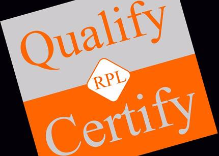 RPL QUALIFY and CERTIFY AUSTRALIA