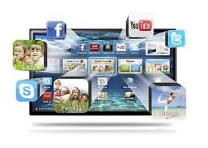 BRAND NEW Samsung 50 ''FULL HD 1080p TV SLIM 120HZ WIFI SMART LED