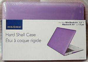 Insignia Macbook Air 13 Hard Case Shell Cover. Brand New SEALED