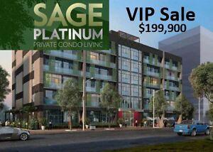 Waterloo Sage Condo $199,900 - Furnished !!