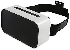 Sharper Image Smartphone 360 Virtual Reality Headset White 1000466