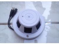 Covert smoke alarm camera