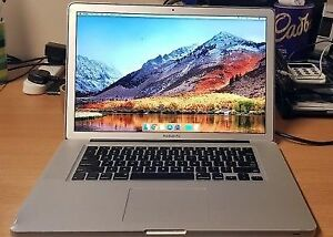 "MACBOOK PRO 15"" i5 2.53GHz,500GB,4GB,WEBCAM,WIFI,liquidation"