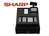 *almost new* Sharp XE-A207B - Cash register - 2000 PLUs - black FOR BARGAIN