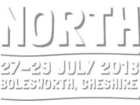 2x Carfest North adult 3 day tickets