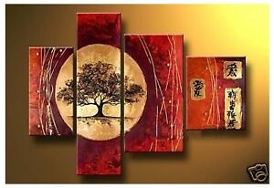 4025-Brand new  Hand made  Abstract Art on canvas ( not printed)