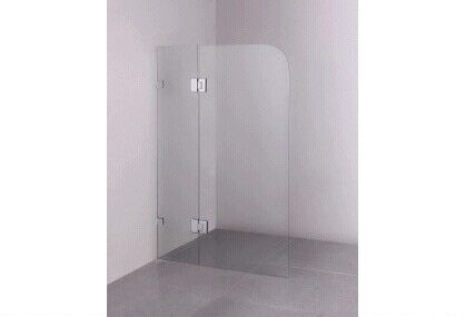 New Frameless overbath shower screen 10 mm 900 x 1400 mm