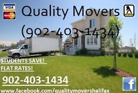 ☃ Quality Movers S/A $50/hr (403-1434)