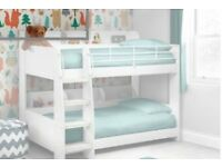 Julian Bowen Domino White kids Bunk Bed
