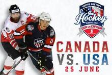 ICE HOCKEY - USA v CANADA - PRIVATE SUITE TICKETS CATERED Glenmore Park Penrith Area Preview