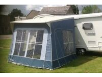 Awning, Inner Tent and Annexe for high motorhome. Used on Swift Escape