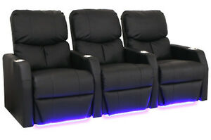 Home Theater chair Theatre seat seating recliner led light