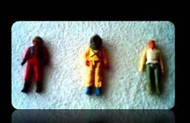 VINTAGE ACTION FIGURES - (3) - FOR SALE