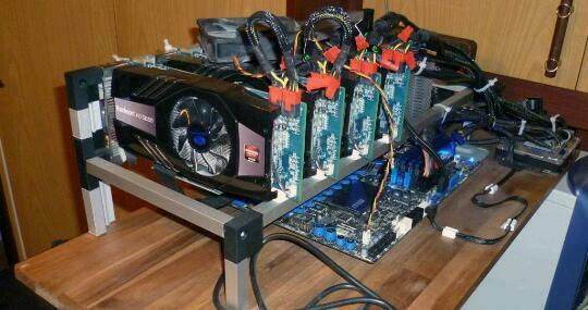 crypto-currency mining machines