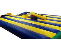 Gladiator Duel Hire, 20ft x 17ft from £80.00