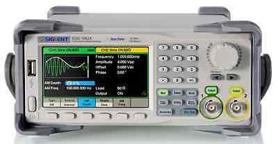 Siglent SDG1032X Funktionsgenerator 30 MHz 150MSa/s 2xCH Garantie in Europe !