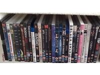 Approx 180 DVDs (some multiple) ex cond. £1 each or 6 for £5 - or make me a sensible offer for all