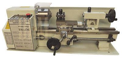 Digitial Precision Metal Mini Lathe 7 X 14 Machine Variable Speed 550w 2500rpm