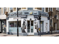 Hairdresser & beauty therapist (part time) wanted for busy salon in camberwell SE london