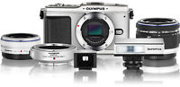 Olympus PEN E-P1 M43 camera body only