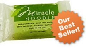 6 Packs Miracle Noodle Angel Hair Shirataki Pasta 4 Low Carb Diet & Weight Loss
