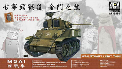 1/35 AFV Club M5A1 Stuart Light Tank #35S60 , used for sale  Wolcott