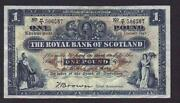 Old Scottish Bank Notes