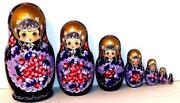 Russian Nesting Dolls Signed