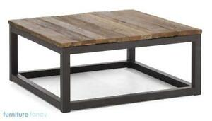 Square Coffee Table EBay - Square wood coffee table