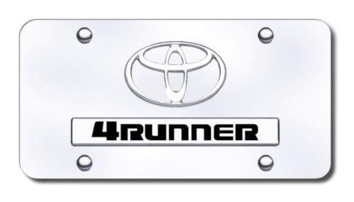 toyota 4runner license plate