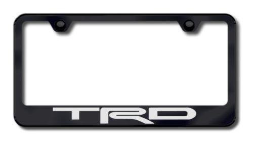 toyota trd license plate frame