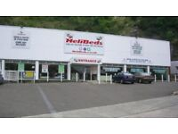 18,000 SQ/FT RETAIL SHOWROOM AND STORAGE FACILITY PREMISES WAREHOUSE BUILDING