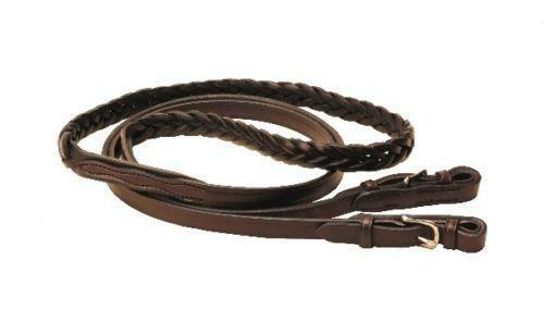 Leather Braided Roping Reins Ebay