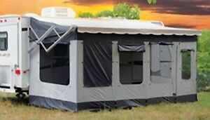 Carefree Add- a -Room for RV awning