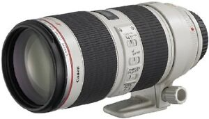 Canon EF 70-200mm f/2.8L IS II Telephoto Zoom Lens USM, Model EF