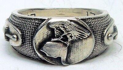 MK-art Militaria Patriotischer Ring  Hermann der Cherusker