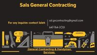 HANDYMAN SERVICES & GENERAL CONTRACTING