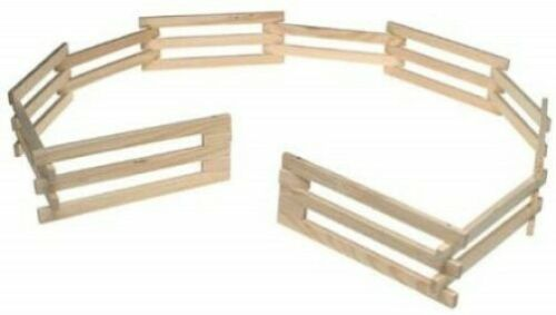 Breyer Traditional Size Wood Corral Fencing Accessory #7500