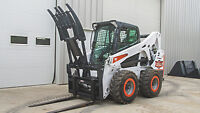 *FREE SHIPPING* Pallet Fork Grapple Skid Steer Attachment