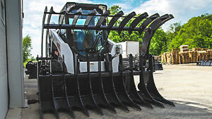 Jenkins HEAVY DUTY Brush Grapple Skid Steer Attachment