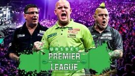 Premier League Darts - Front Table Tickets - Birmingham Arena 3/5/18 - Best Seats in Arena