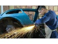 Automotive welding repairs