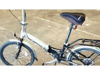 Apollo tansition folding bike with 6 gears in vgc £ 100 ono