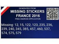 Panini Stickers Euro 2016